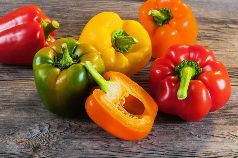 Paprika & Tomaten