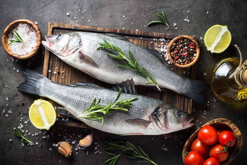 Ganze Fische