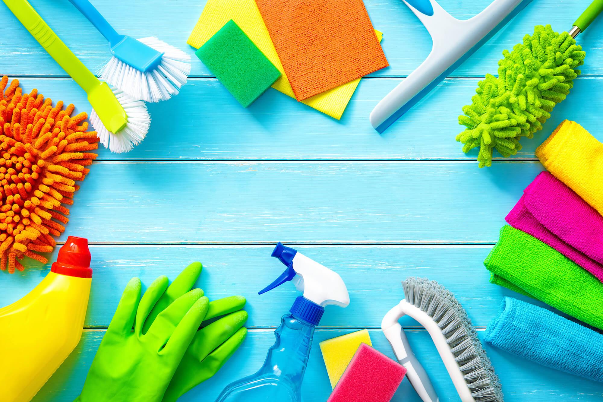 Reinigungsmittel & Schutz
