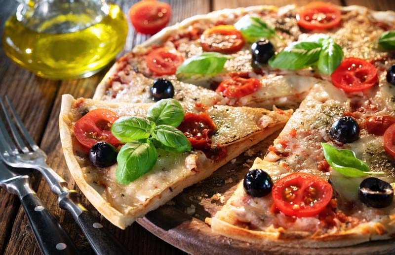 Pizzen & Pikante Kuchen